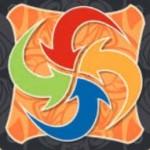flèches de couleurs