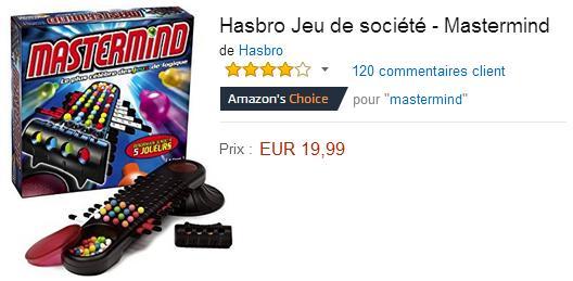 Mastermind acheter