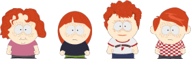 Enfants roux (South Park) Gingers have no soul