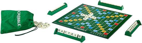 Scrabble : Matériel