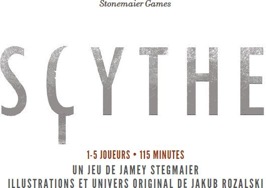 Scythe : Jeu