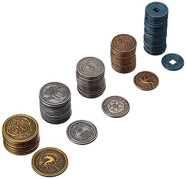 Scythe : pièces en métal
