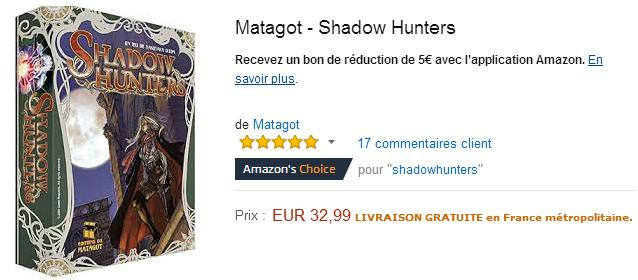 Shadow Hunters Acheter le jeu