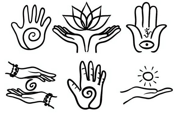 Signes des mains