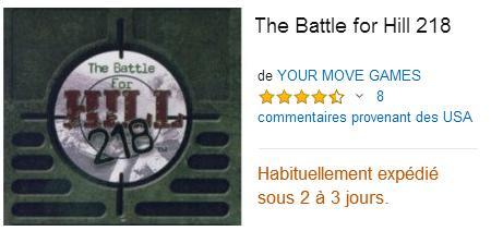 The Battle for Hill 218 : acheter