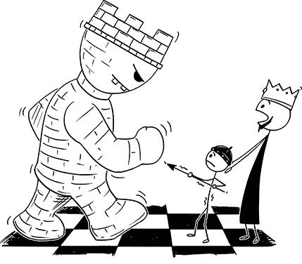 Tour aux échecs
