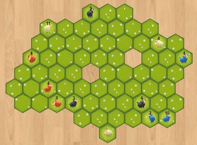 Battle Sheep : barrière