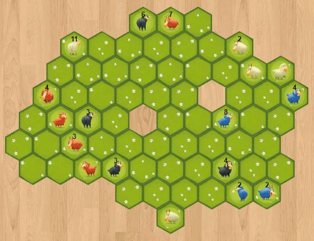 Battle Ssheep : barrière