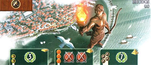 7 Wonders Colosse de Rhodes