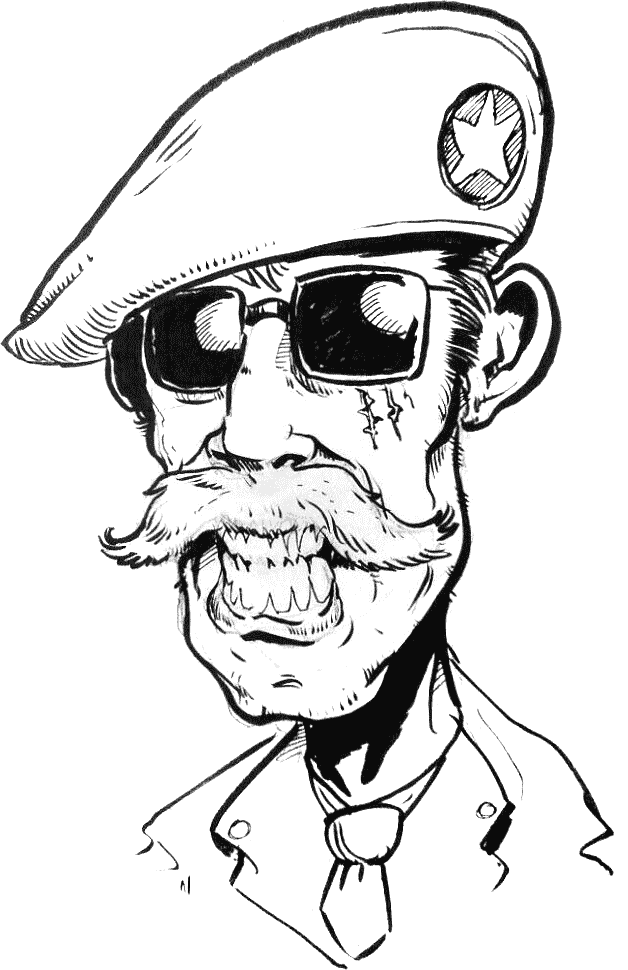 Apocalypse sur Carson City Général Matthews
