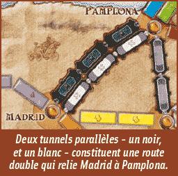 Les Aventuriers du Rail - Tunnels