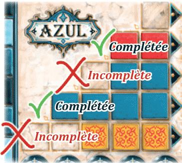 Azul : Décoration du mur du palais