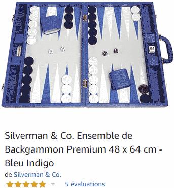Backgammon : Acheter format compétition