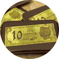 Billet de 10F