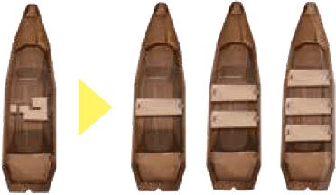 Cerbère : Barques