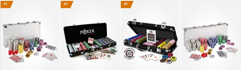 Coffrets de Poker