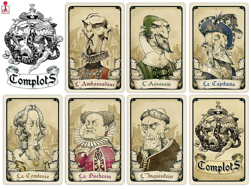 complots personnages