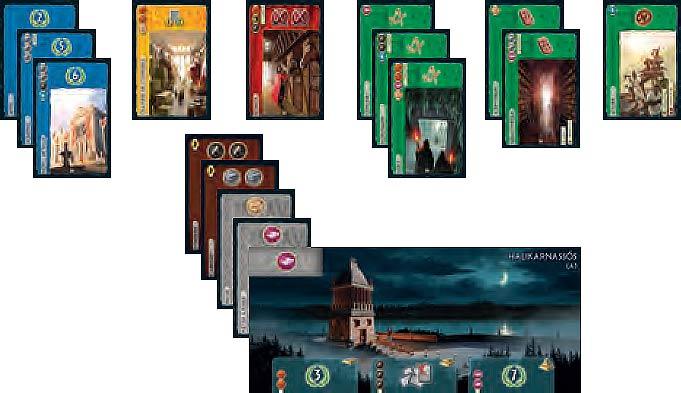 Disposition des cartes