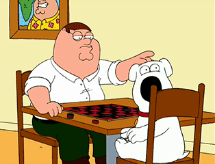 Family Guy Jeu de Dames