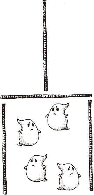 Fantômes enfermés