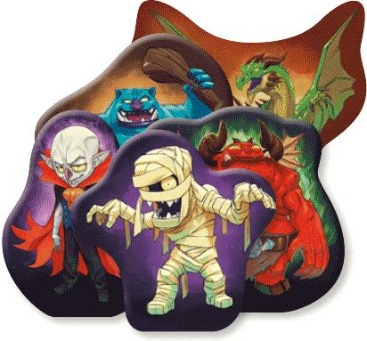 Figurines : Monstres
