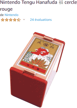 Hanafuda Tengu Cercle rouge (Nintendo)