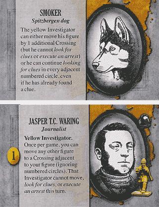 Jasper T.C. Waring et son chien Smoker