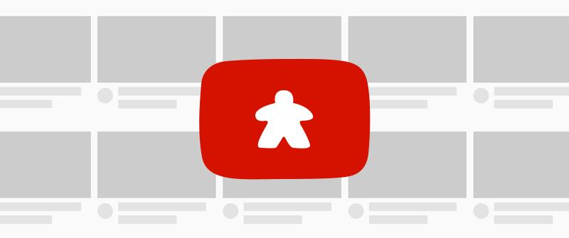 Jeu de société : Youtube