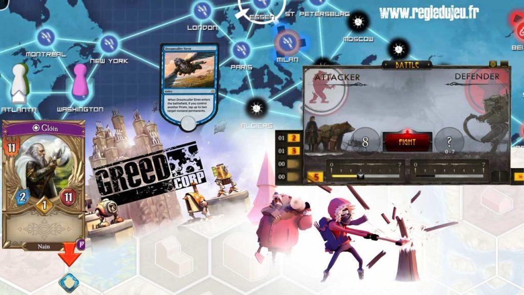 jeux de société et jeux video