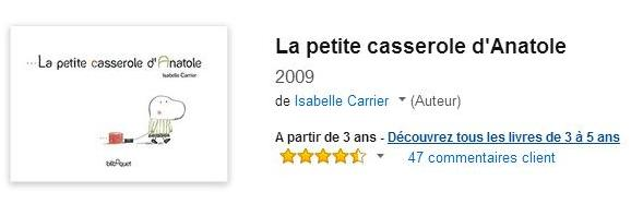 La Petite Casserole d'Anatole : acheter