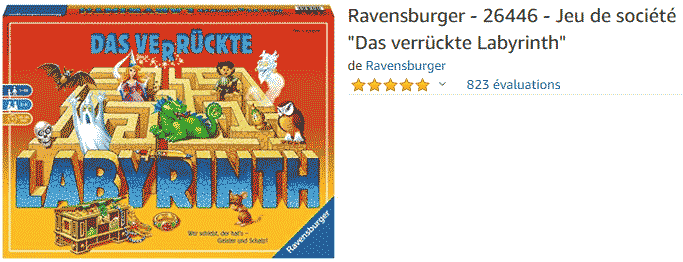Labyrinthe : acheter