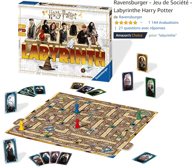 Labyrinthe : Harry Potter