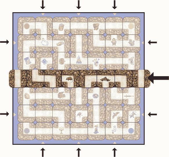 Labyrinthe : La Plaque Couloir