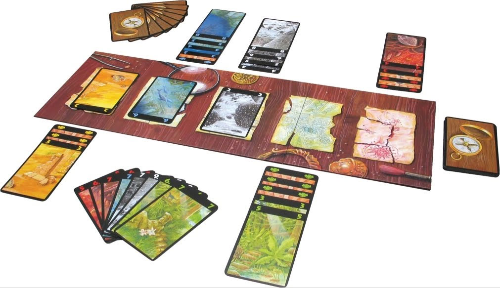 Lost Cities : Le jeu de cartes