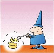Magicien transforme