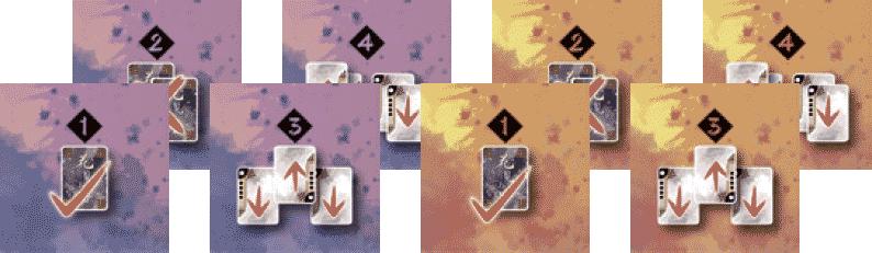Hanamikoji : 8 jetons Action