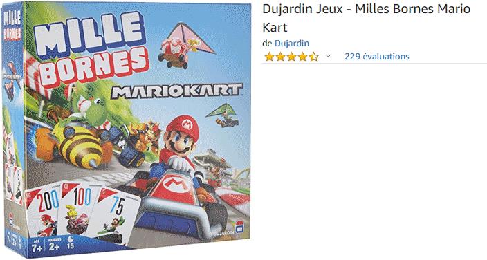 Mille Bornes : Mario Kart