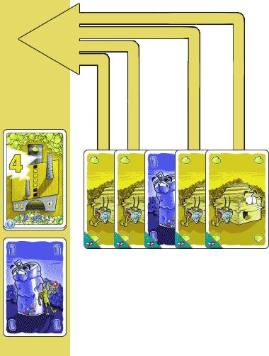 Poser une ou des cartes