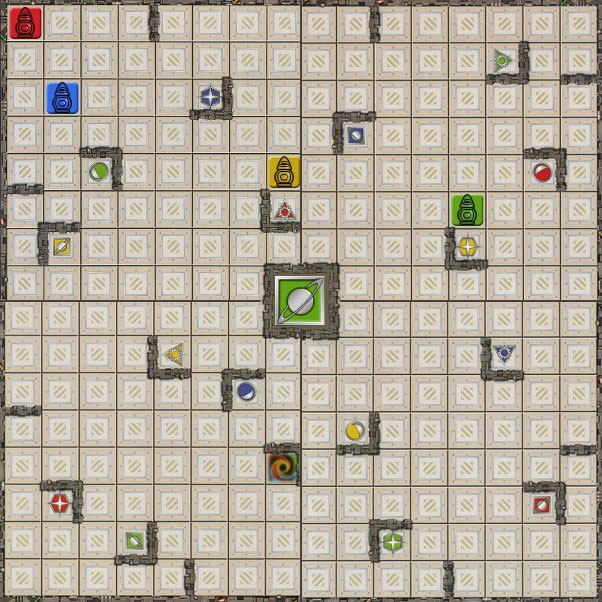 ricochet robots plateau