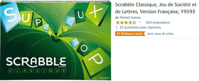Scrabble : acheter