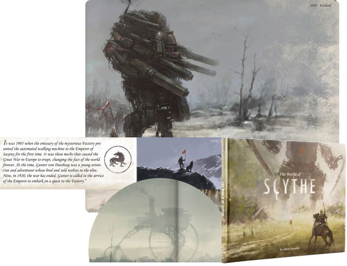Scythe : Art Book