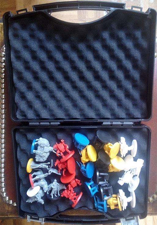 Scythe : Boîte pour ranger les Figurines