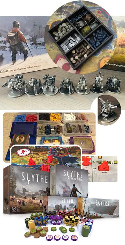 Scythe : Goodies