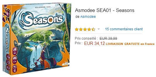 Seasons : Acheter le jeu