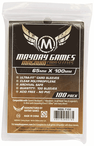 Sleeves Koryo. Mayday Games 65 mm x 100 mm