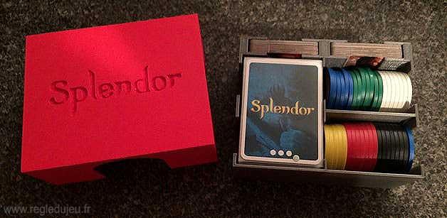 Splendor : boîte