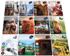 Splendor : Grille des cartes développement