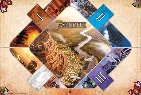Tapis de jeu 7 Wonders