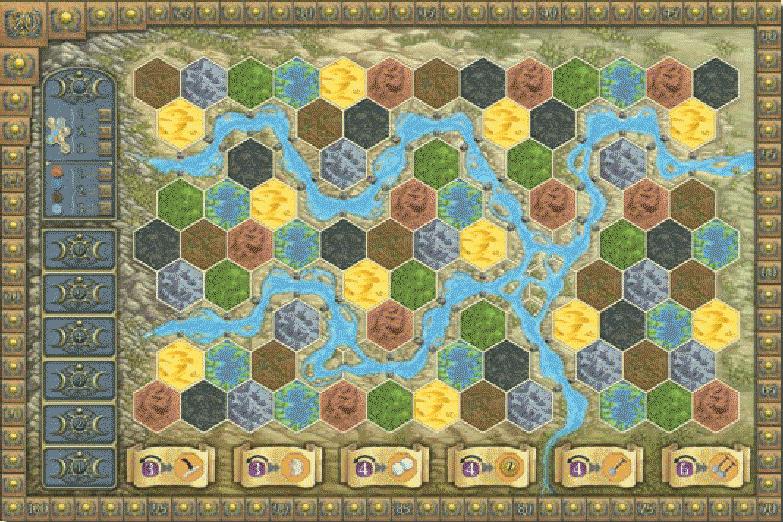 terra Mystica : Plateau de jeu