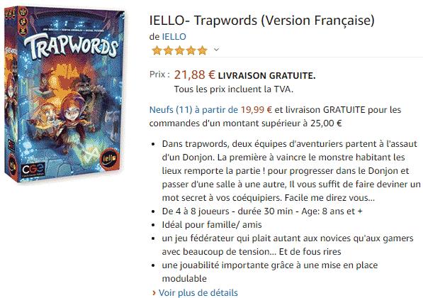 Acheter le Jeu : TrapWords